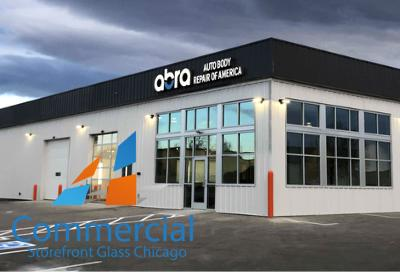 chicago commercial storefront glass replacement window door 40