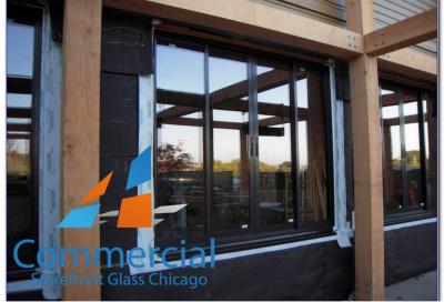 chicago commercial storefront glass replacement window door 44