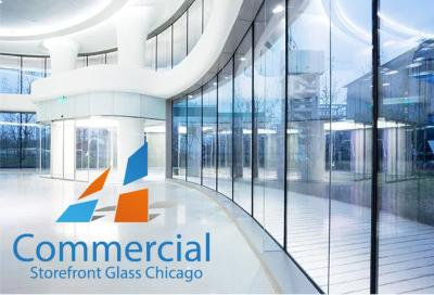 chicago commercial storefront glass replacement window door 45