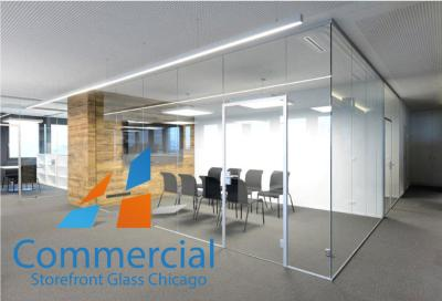 chicago commercial storefront glass replacement window door 55