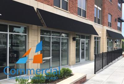 chicago commercial storefront glass replacement window door 56