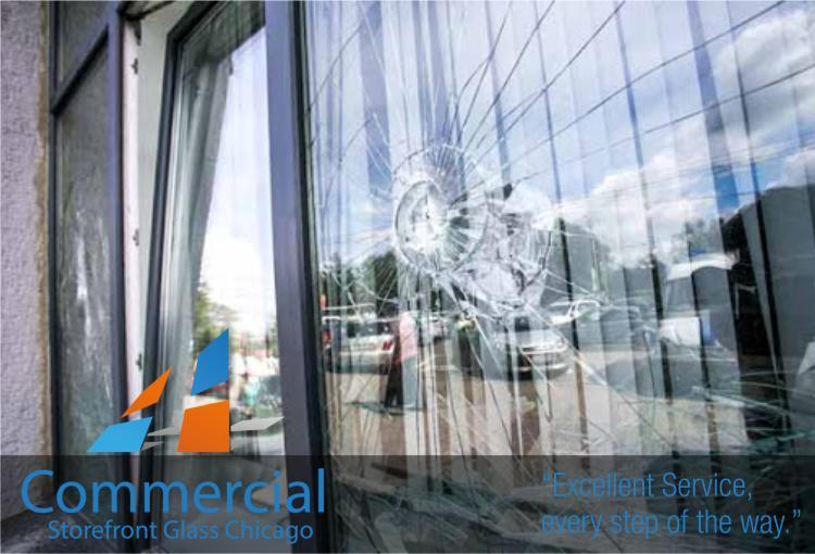 chicago commercial storefront glass replacement window door 57