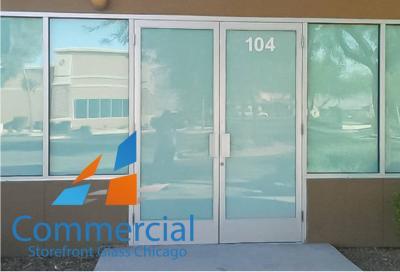 chicago commercial storefront glass replacement window door 58
