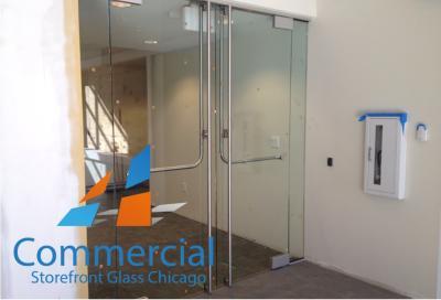 chicago commercial storefront glass replacement window door 60
