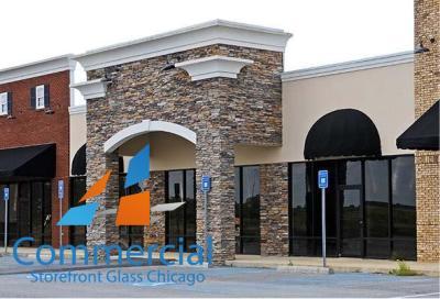 chicago commercial storefront glass replacement window door 70