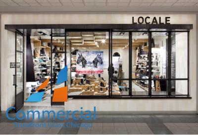chicago commercial storefront glass replacement window door 75