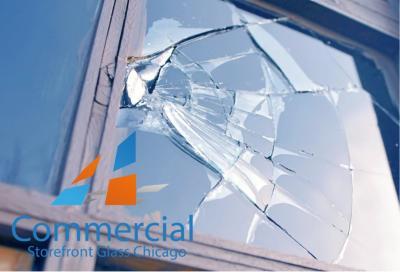 chicago commercial storefront glass replacement window door 76