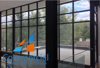chicago commercial storefront glass replacement window door 85