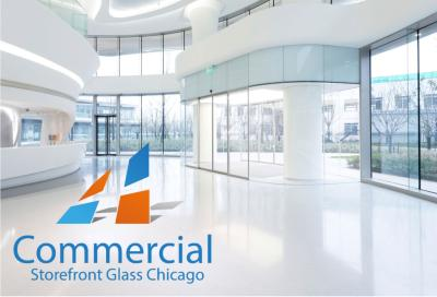 chicago commercial storefront glass replacement window door 90