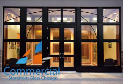 chicago commercial storefront glass replacement window door 95