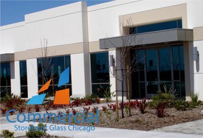 chicago commercial storefront glass replacement window door 99